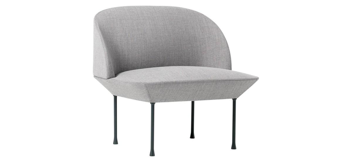 Muuto Oslo Chair · Fiord 151 · Mørkegrå
