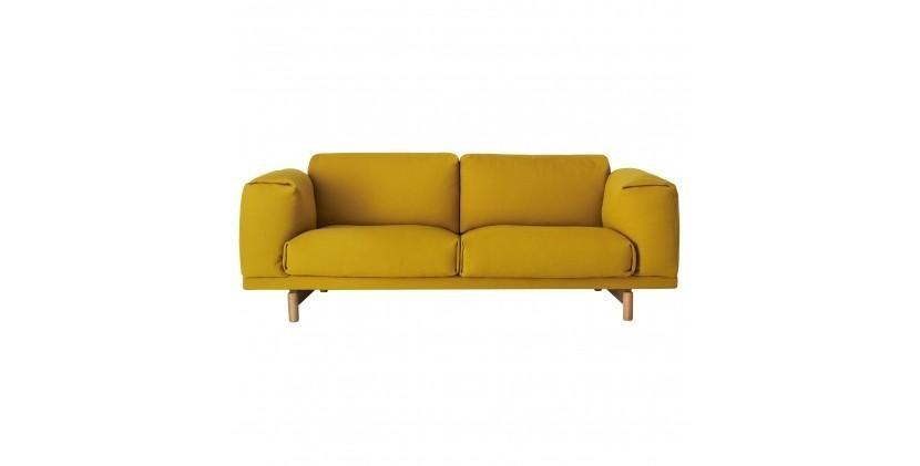 Muuto Rest Sofa · Hallingdal 457 · 2 Personer