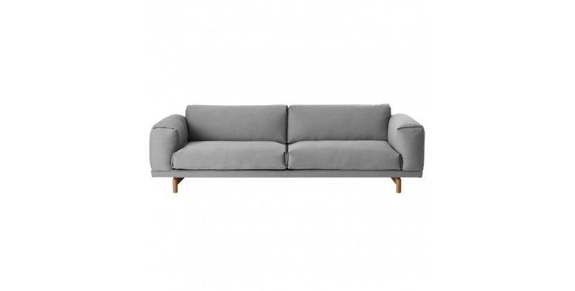 Muuto Rest Sofa · Steelcut Trio 133 · 3 Personer