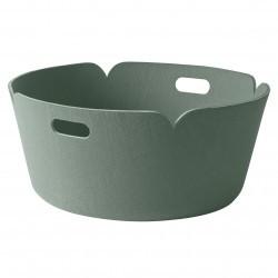 Muuto Restore Round Basket · Dusty Green
