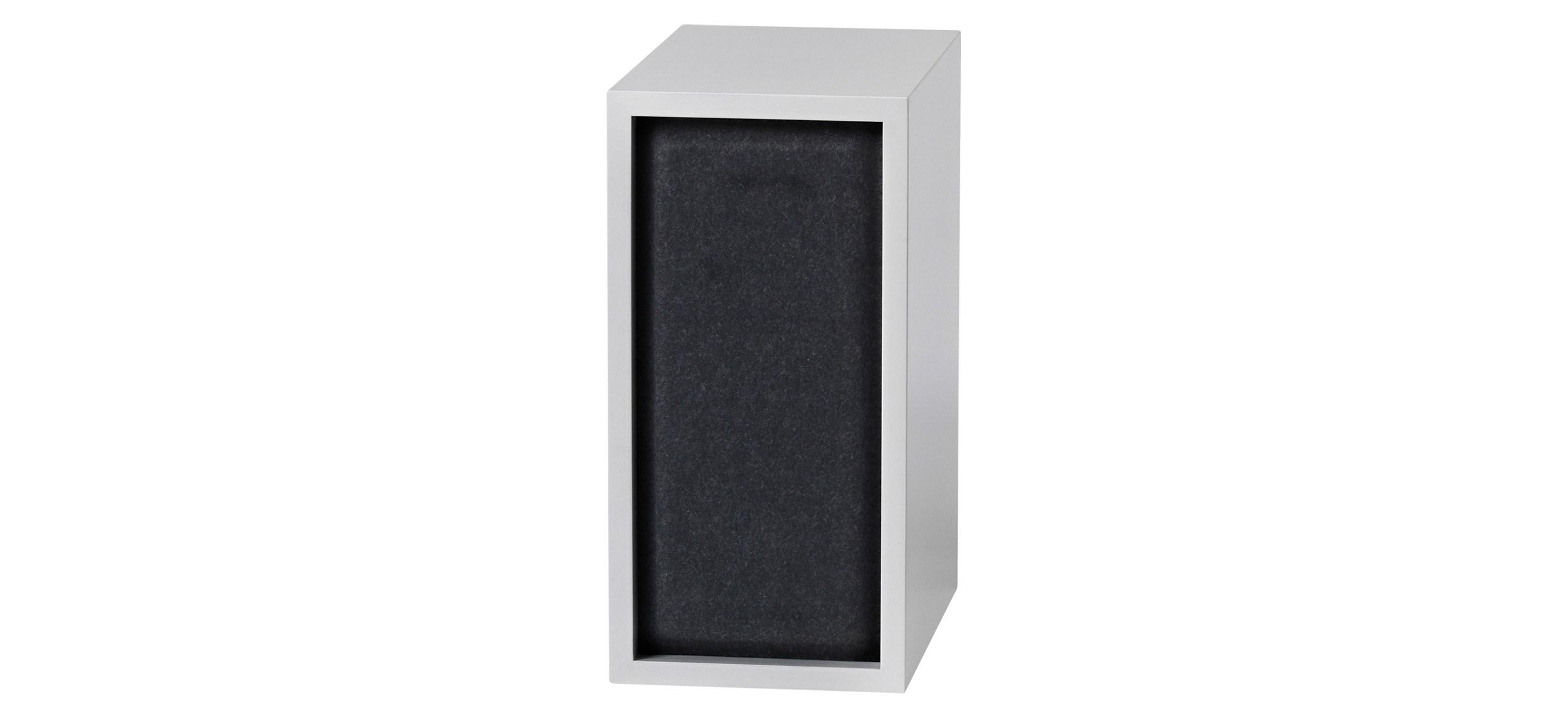 Muuto Stacked Acoustic Panel · Lille · Sort
