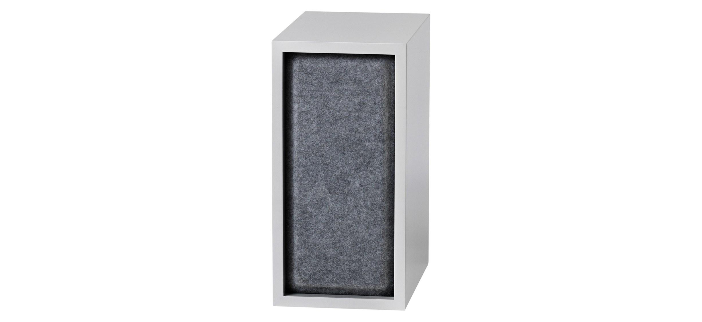 Muuto Stacked Acoustic Panel · Lille · Grå