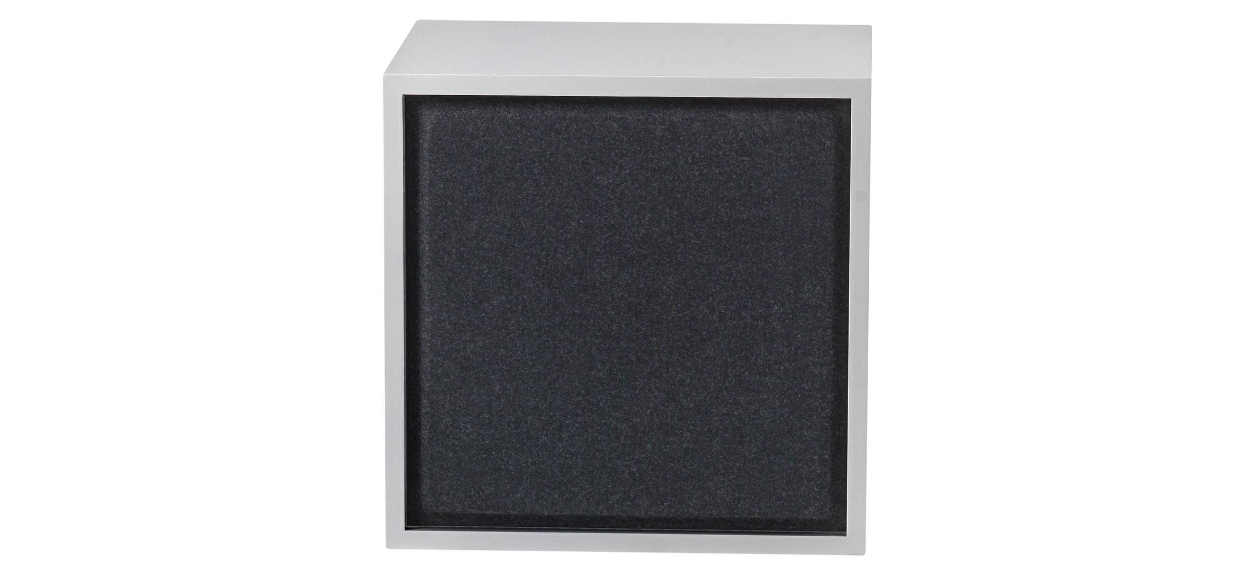 Muuto Stacked Acoustic Panel · Mellem · Sort