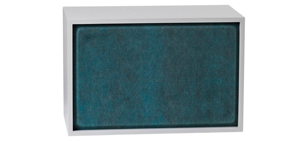 Muuto Stacked Acoustic Panel · Mellem · Aqua