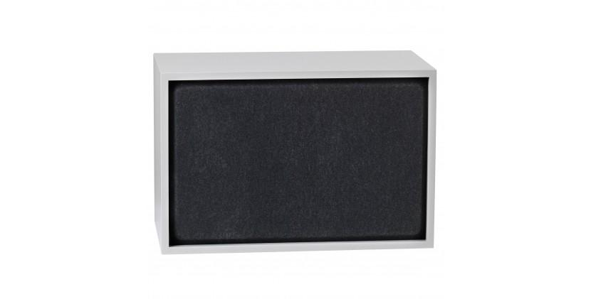 Muuto Stacked Acoustic Panel · Stor · Sort