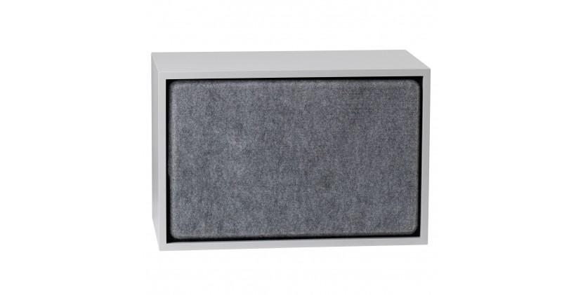 Muuto Stacked Acoustic Panel · Stor · Grå