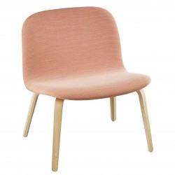 Muuto Visu Lounge Chair Fuldpolstret · Steelcut Trio 515 · Eg